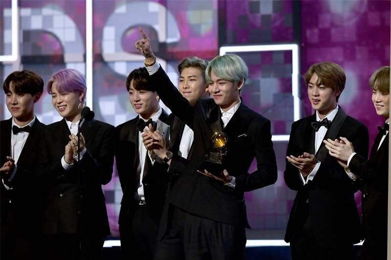 #BTSPavedTheWay trends as BTS vies to be first K-pop group to win Grammys