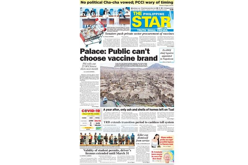 The STAR Cover (January 12, 2021)