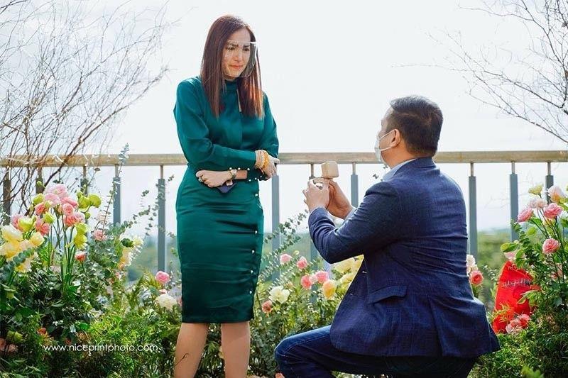 Ara Mina engaged to PITC chief Dave Almarinez