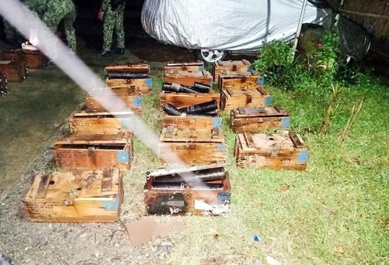US-made rockets recovered off Cagayan