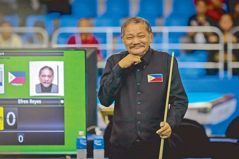 Efren alive and laughing