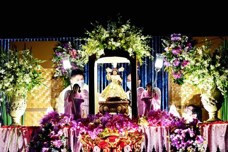 Pandacan church gets new image of Sto. Niño