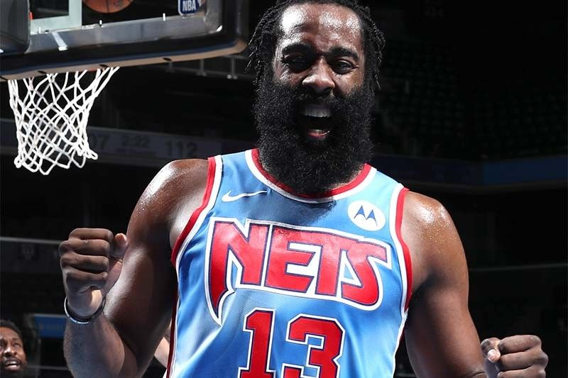 Harden posts triple-double in Nets debut; Spurs handle shorthanded Rockets