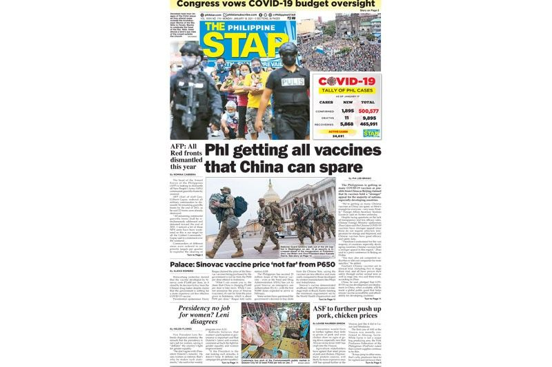 The STAR Cover (January 18, 2021)