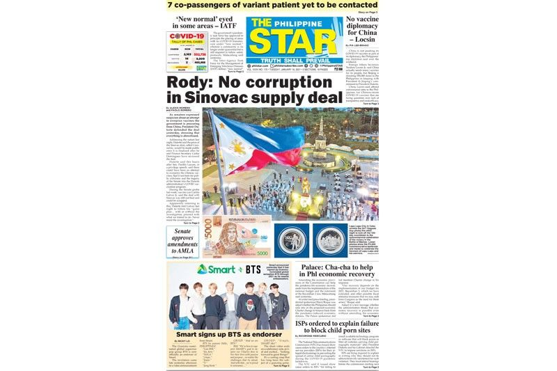 The STAR Cover (January 19, 2021)