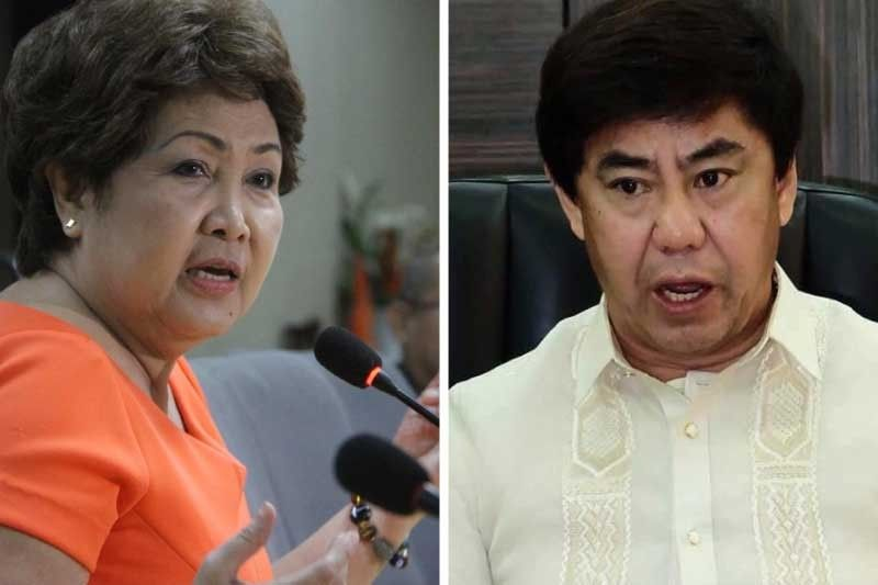 Lapu-Lapu�s opposing camps work on their projects