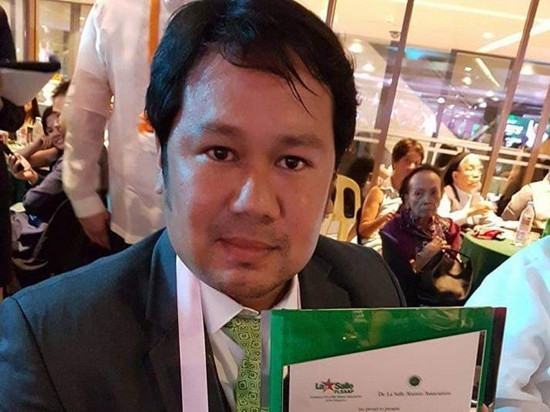 Former football star Alvin Ocampo to be inducted in DLSU Hall of Fame