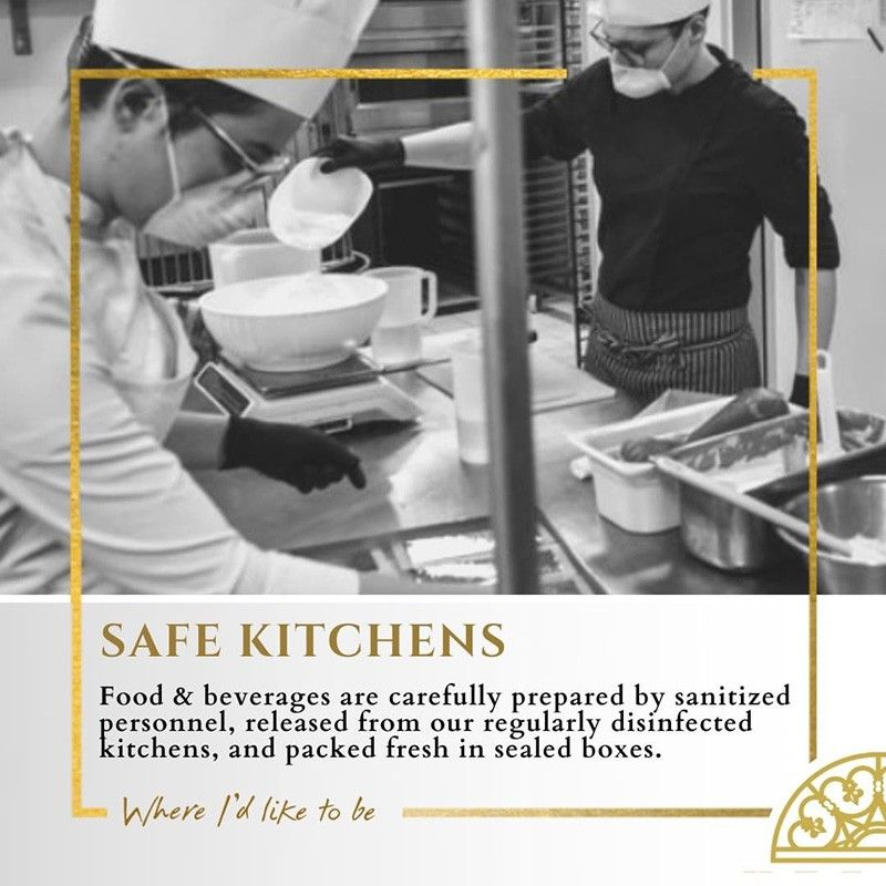 Herald Suites upgrades safety protocols in its kitchens, food outlets