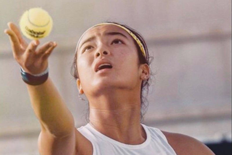 Unang finals appearance ni Alex Eala sa women�s professional tennis