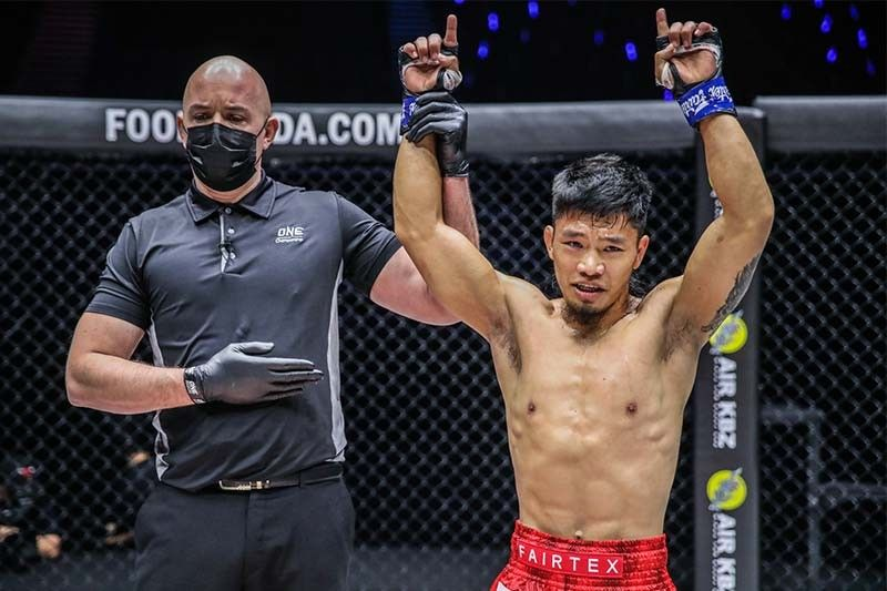 Adiwang hopes latest win will be a catalyst for Pinoy fighters in ONE Championship