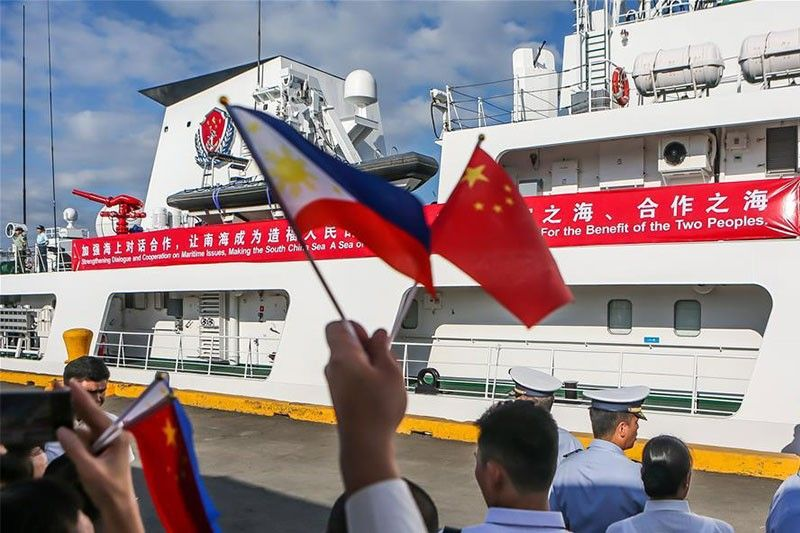 With China's new law vs foreign ships, Palace hopes no country would worsen WPS tensions