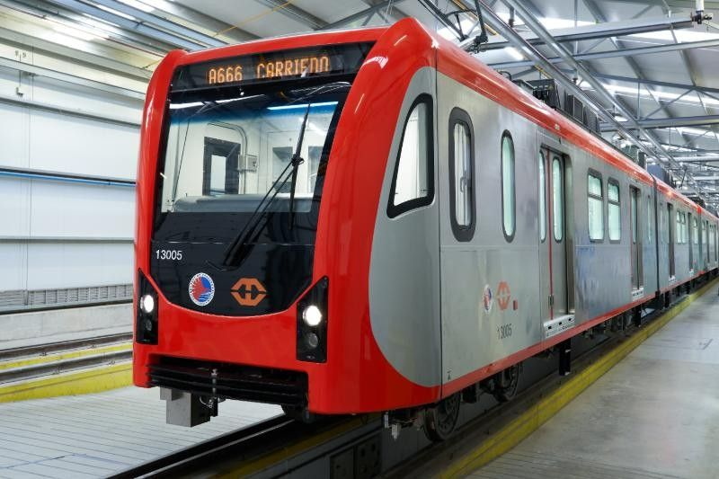 New train cars for LRT-1 Cavite extension arrive in the Philippines