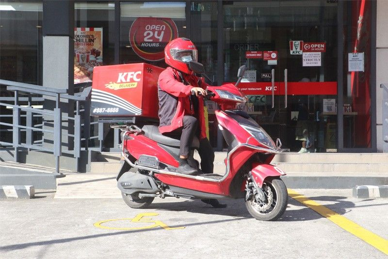 KFC e-bike fleet pioneers eco-friendly food delivery service in Philippines