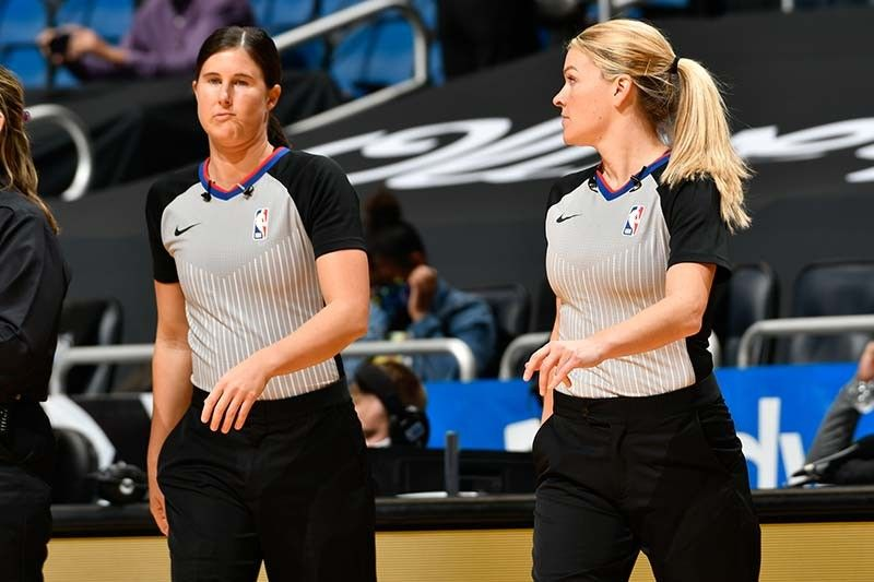 Meet the two female referees who made NBA history