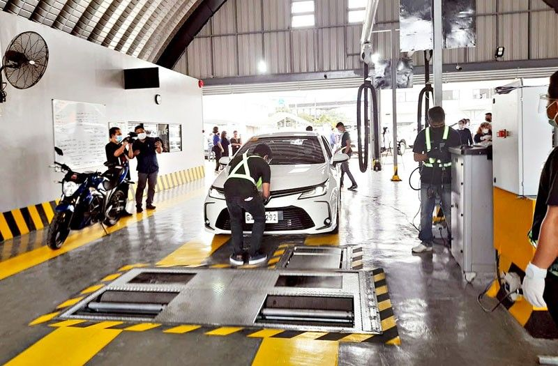 LTO won�t suspend new vehicle inspection system