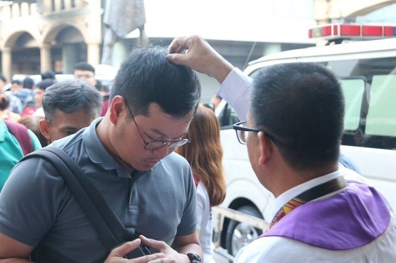 Church to faithful: Physically attend Ash Wednesday rites