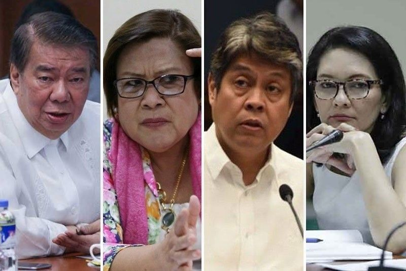 PET junking of poll protest vs Robredo should lay issue to rest � opposition senators