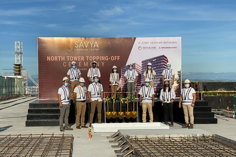Arthaland tops off first multi-certified green office  development in Arca South