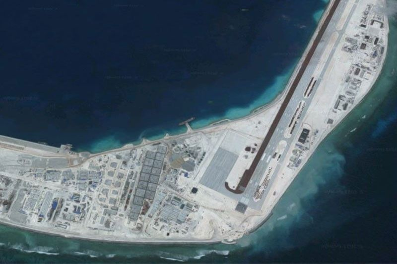 Photos show more Chinese construction, new radars on Mischief Reef