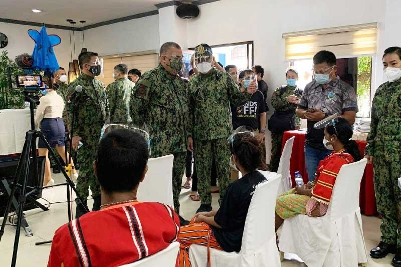 �Rescued� lumad children, parents to return to Davao