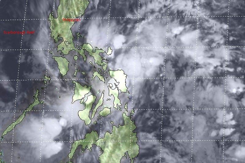 'Auring' weakens before landfall over Eastern Samar