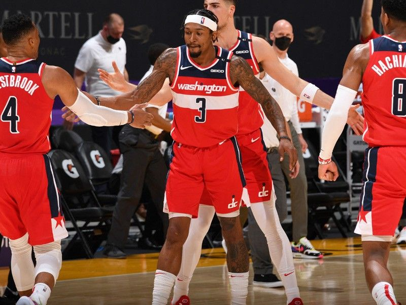 Beal, Wizards outlast Lakers in OT; Jazz rain triples on Hornets