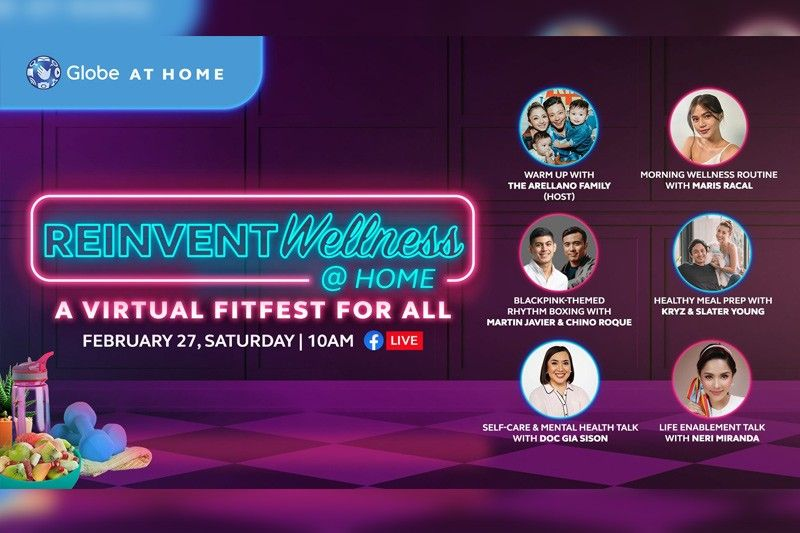 Globe At Home reinvents wellness with virtual 'fitfest' on Feb 27