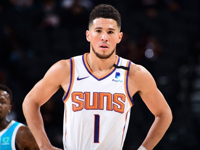 Suns' Booker to replace Lakers' Davis in NBA All-Star Game