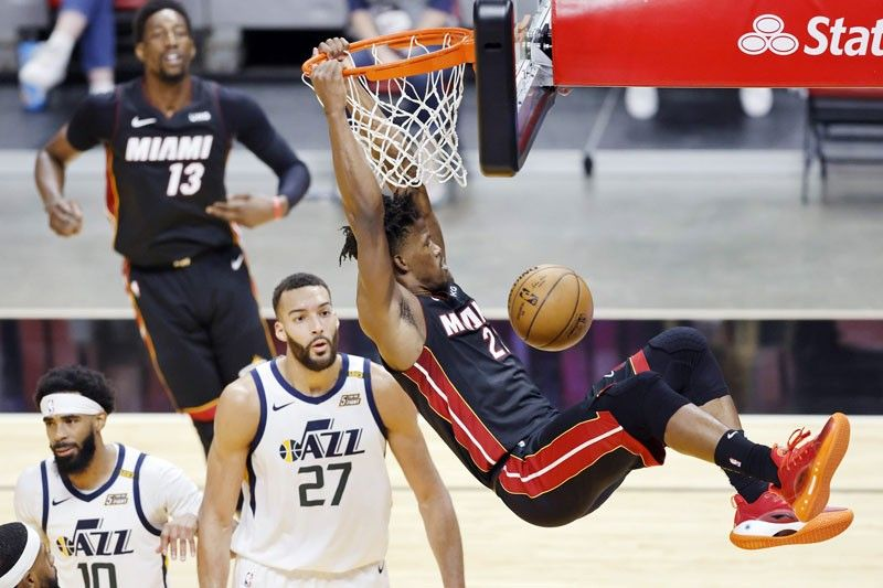 Heat cool off Jazz; Raptors slam Rockets