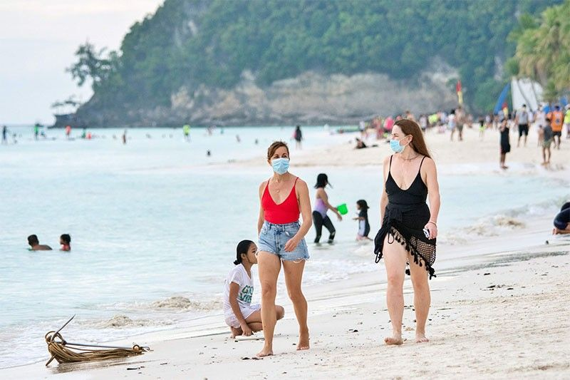 Boracay logs 16,487 visitors in February, the most since pandemic reopening