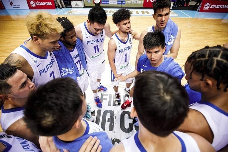 Idle Gilas stays at No. 31 in FIBA rankings