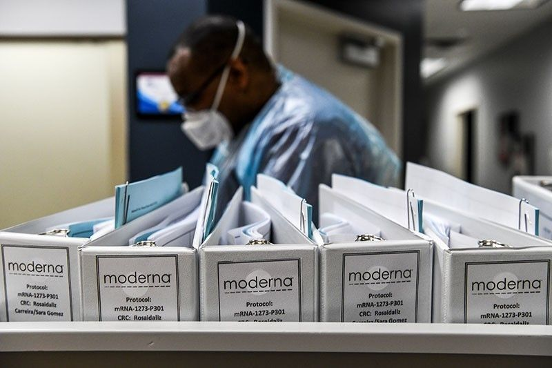 Philippines reaches supply deal with Moderna for 13 million doses of COVID-19 vaccine