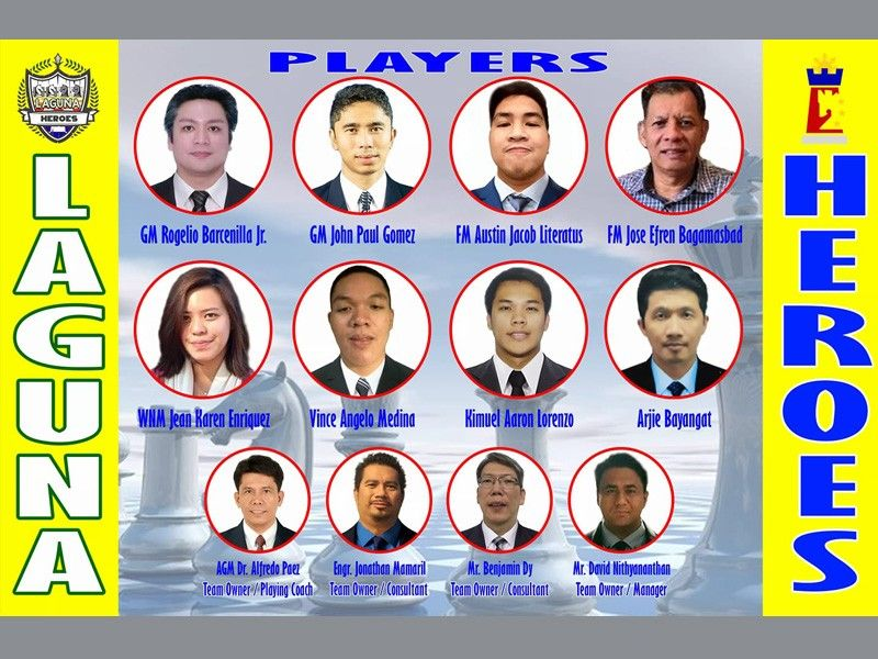 Laguna Heroes: A team and a new set of heroes for this historic province