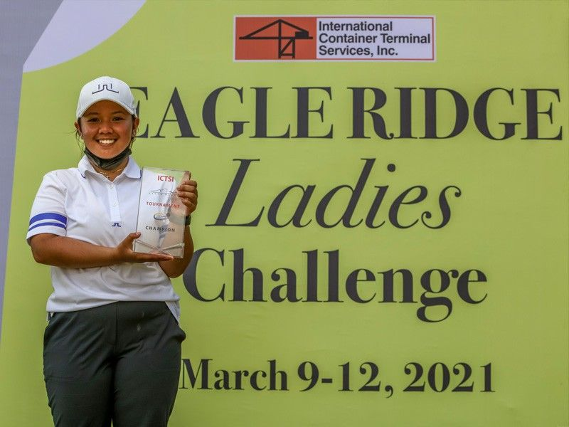 Constantino shines in pro debut, foils Superal to win Eagle Ridge title