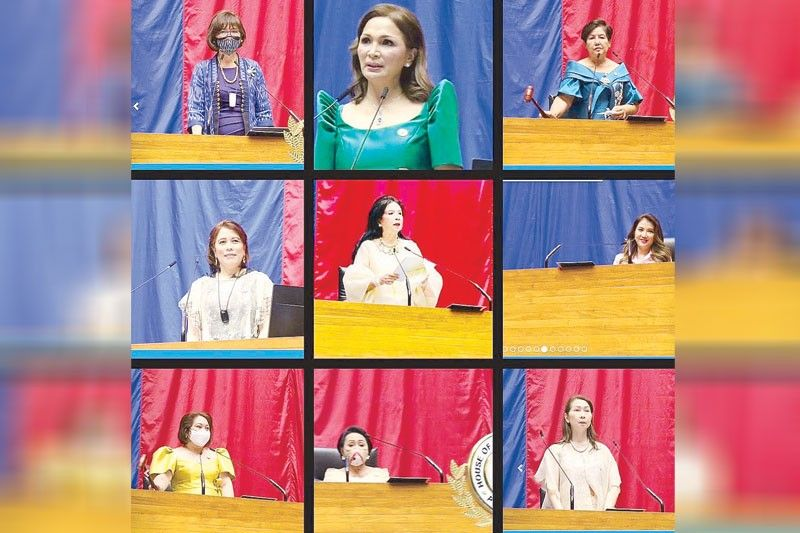 In praise of frontliner lady solons