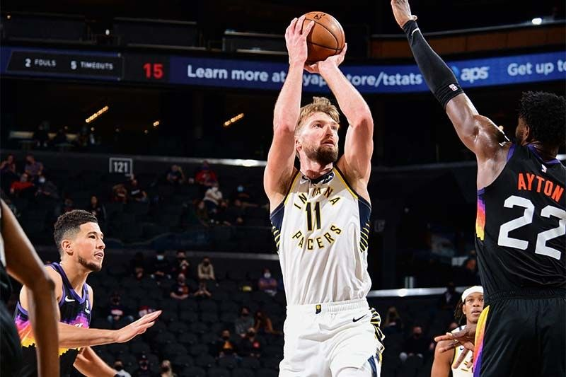 Sabonis, Pacers douse red-hot Suns; Blazers edge Wolves
