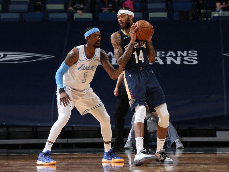 Ingram rampant as Pelicans deal depleted Lakers third straight loss