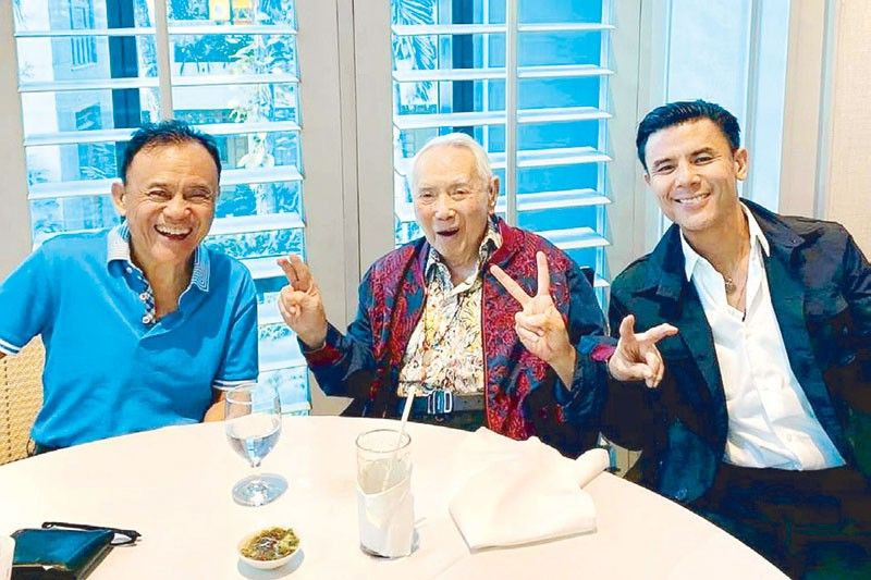 100 years of love, laughter  & lessons from Benny Tantoco