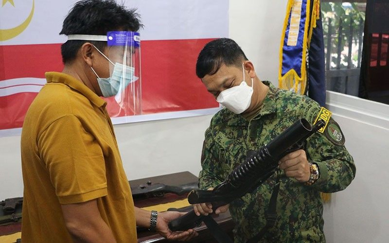 Another armed group in Maguindanao surrender to CIDG