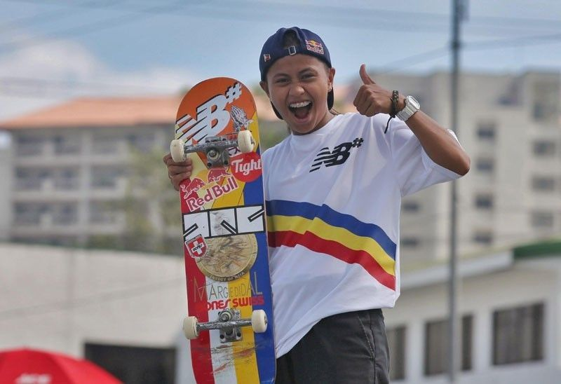 Didal seeks outright Tokyo Olympic skateboard entry