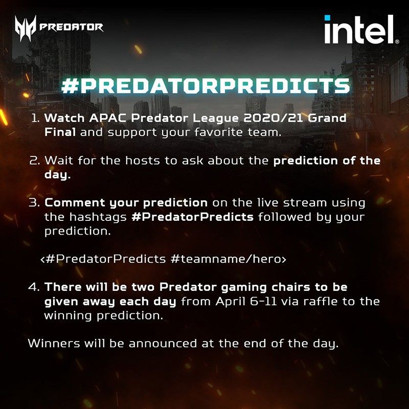 Get a chance to win a Predator Helios 300 from home – Here's how