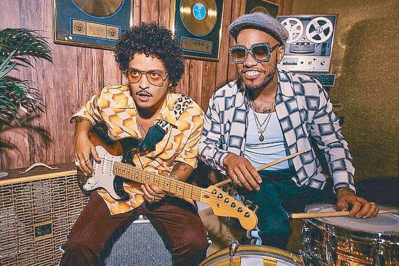 Bruno Mars has hot, new collab