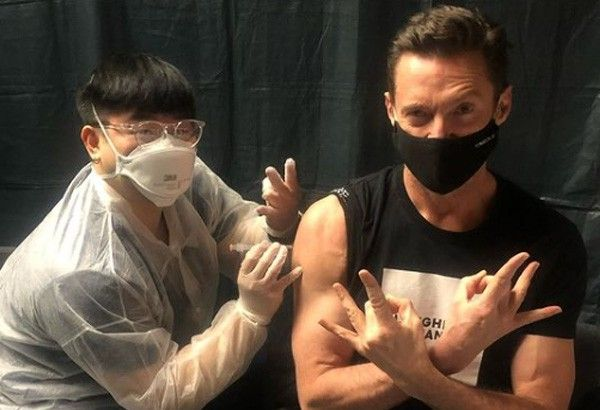 'Wolverine�s healing ability can�t save me': Hugh Jackman gets COVID-19 jab
