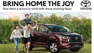 Big discounts, rebates offered on Toyota models this April