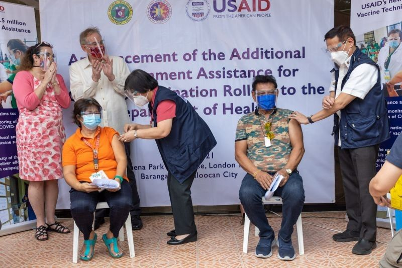 US donates P170M to support COVID-19 vaccination in the Philippines