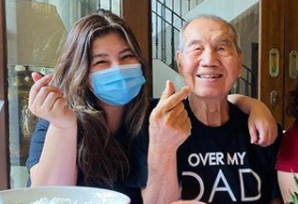 Angel Locsin thanks fans for prayers for COVID-19 positive dad
