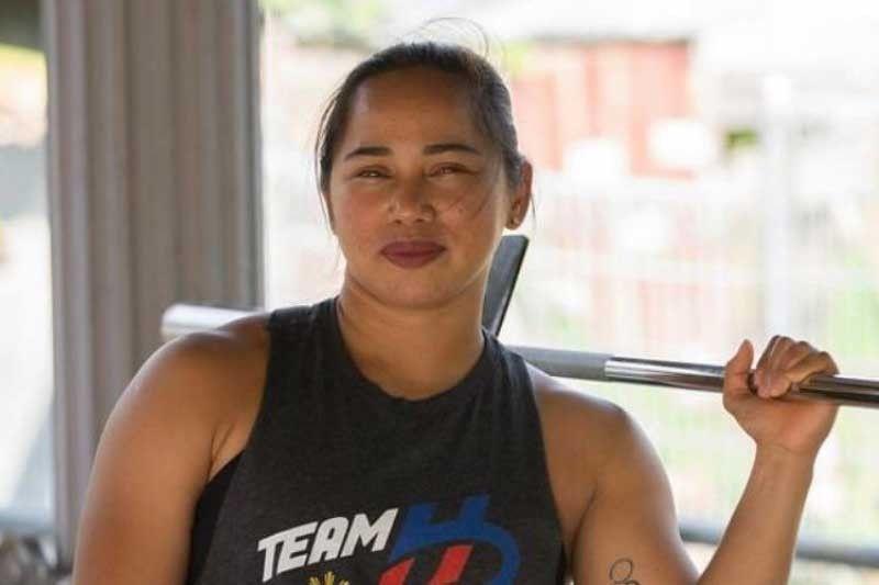 Diaz nagpakita lang sa laban pasok na sa Tokyo Olympics