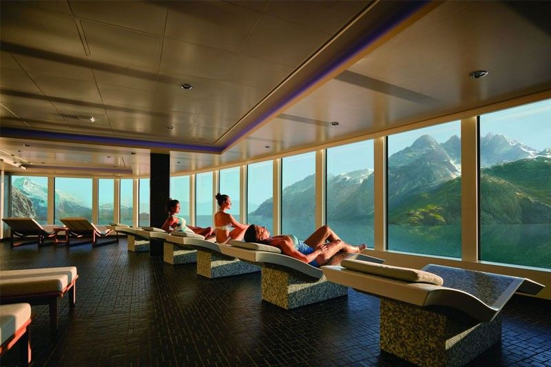 In photos: Stressed? Check out these luxury cruise spas