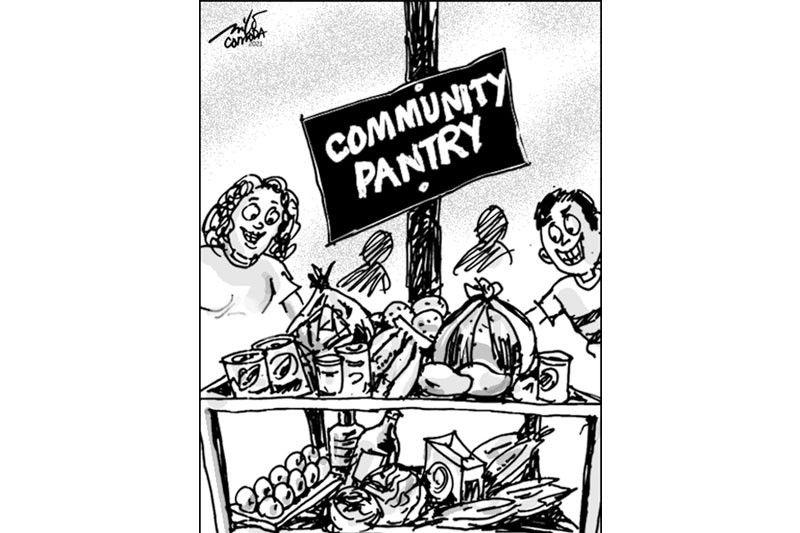EDITORYAL - Nagsulputan na ang community pantry