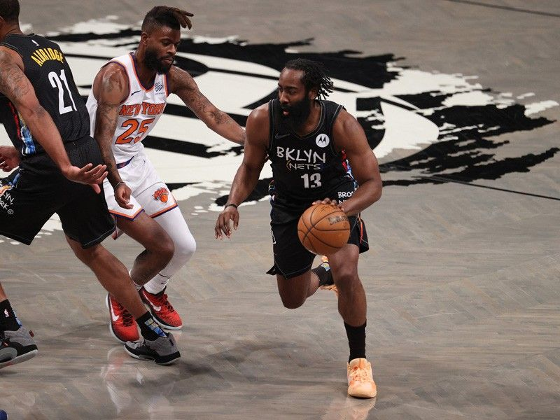 Nets: Harden out 'indefinitely' due to injury